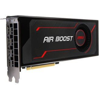 Radeon RX VEGA 56 Air Boost OC- 8 Goavec ventilateur PCI Express x16 Carte Graphique PC 2560 x 1600 3 x DisplayPort 1 x HDMI 8 Go 1 an(s) 1 800 MHz Radeon RX Vega 56 HBM2 Radeon 1181 MHz