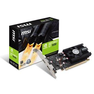 GeForce GT 1030 2G LP OCNVIDIA avec ventilateur GDDR5 2 Go PCI Express 3.0 x16 Carte Graphique PC 1 x HDMI 1 1 x DisplayPort GeForce GT 1030 1502 MHz 1265 MHz