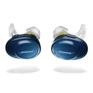 Soundsport Free - Bleu nuit / Jaunesans fil Intra-auriculaire 15 grammes Bluetooth Bluetooth Bleu nuit / Jaune
