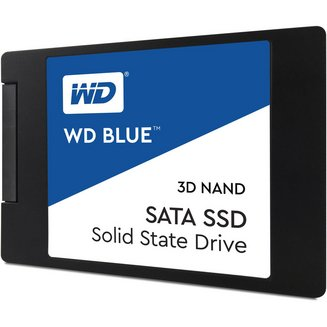 Blue 3D NAND SSD SATA III - 500 GoInterne SSD Serial ATA III PC 2 an(s) 530 MBps 560 MBps 500 Go