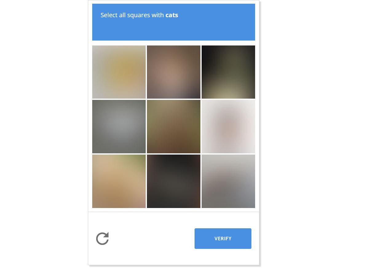 humans not invited captcha