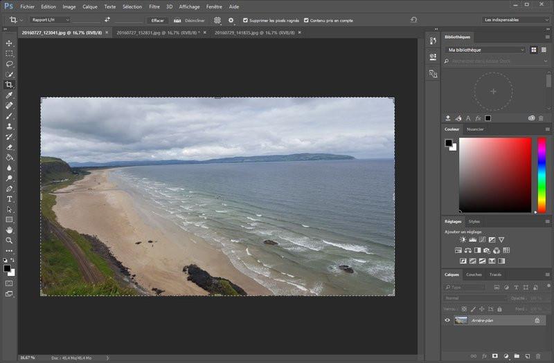 Adobe Photoshop Recadrez Une Photo Sans Perdre De Contenu
