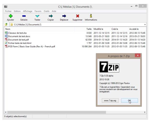 zoom sur 7-zip