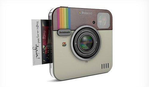 socialmatic un appareil photo instagram bient t chez polaroid. Black Bedroom Furniture Sets. Home Design Ideas