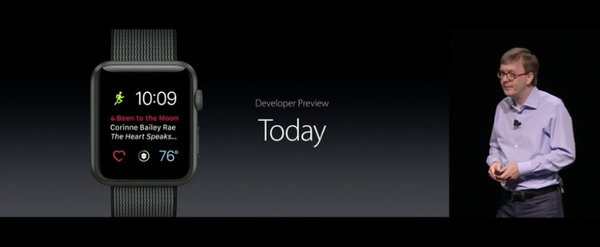 WatchOS 3 today