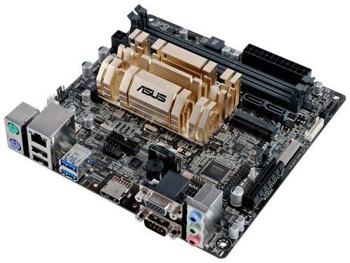 carte mere avec processeur Asus lance une carte mère à 75 euros idéale pour un HTPC Ultra HD