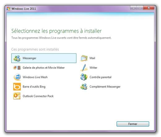 windows live messenger 2010 sur clubic