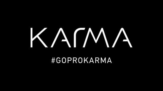 Logo drone GoPro Karma