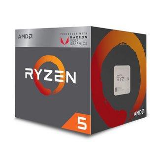 Ryzen 5 2400G (3,6 GHz)Quad-core (4 Core) 2 Mo 4 Mo AMD 3 an(s) AMD 3,60 GHz AMD Ryzen 5 Socket AM4 Radeon Vega 11 Graphics