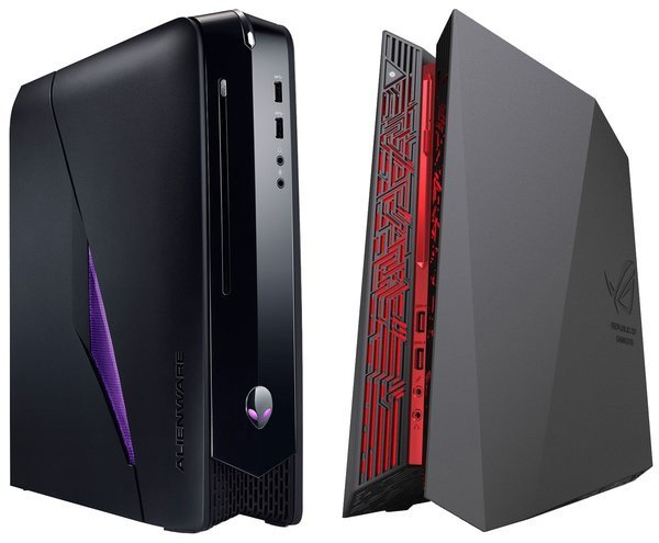 alienware x51 asus g20 le match des pc gamer compacts. Black Bedroom Furniture Sets. Home Design Ideas
