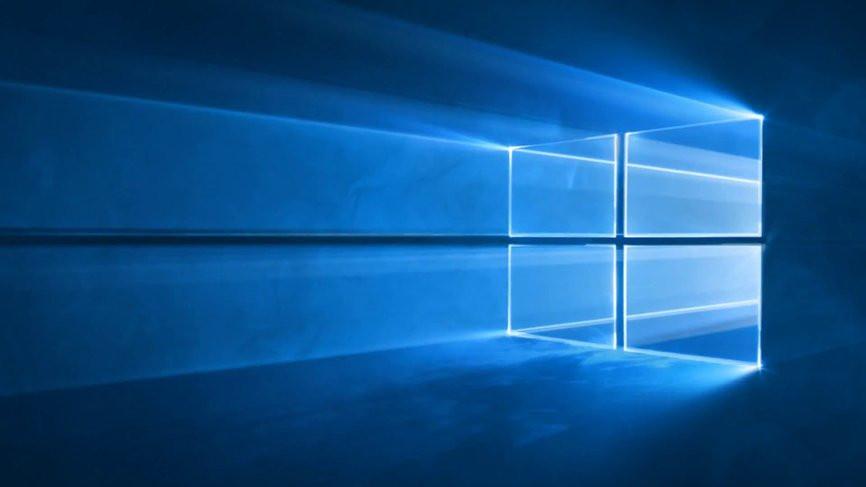 Windows 10 Un Portail Vers L Espace Pour Le Fond D Ecran Par Defaut