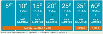 carte prépayée bouygues telecom Bouygues Teleouvre sa carte prépayée à la 4G