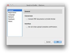 Kindle : Amazon simplifie le transfert de documents depuis Mac