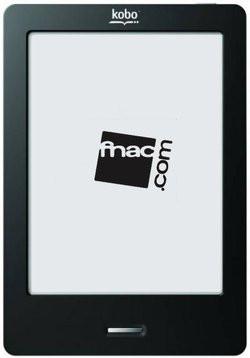 Livre Electronique Le Kobo Devant Le Fnacbook En Deux
