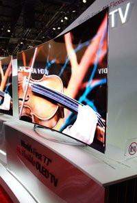 LG Tv OLED 77 pouces incurvable