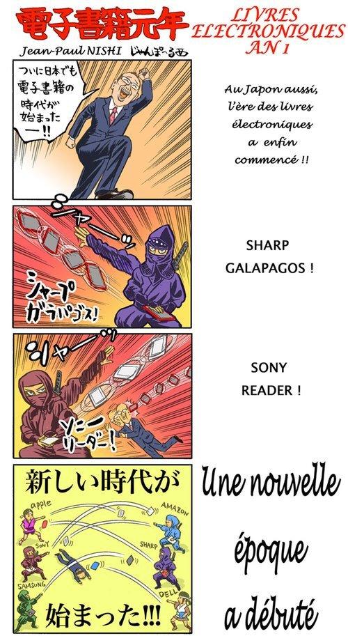 Live Japon : Tablettes numériques, n\'en jetez plus !