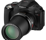 Canon PowerShot SX30 IS : un bridge au zoom record de 35 fois
