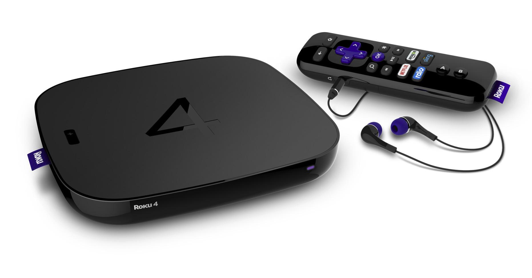 Roku 4 Un D 233 Codeur Ultra Hd Astucieux Contre L Apple Tv