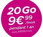 B&You : un forfait 20 Go à 9,99 euros par mois