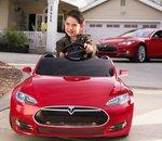 Une Tesla Model S très abordable... pour les enfants