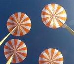 SpaceX teste des parachutes géants pour freiner sa capsule