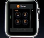 WatchOS 3 : améliorations de performances et accès plus rapide aux apps