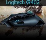 Logitech G402 Hyperion Fury : une furieuse souris pour gamer