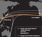 Google et Facebook lanceront un câble sous-marin entre LA et Hong Kong