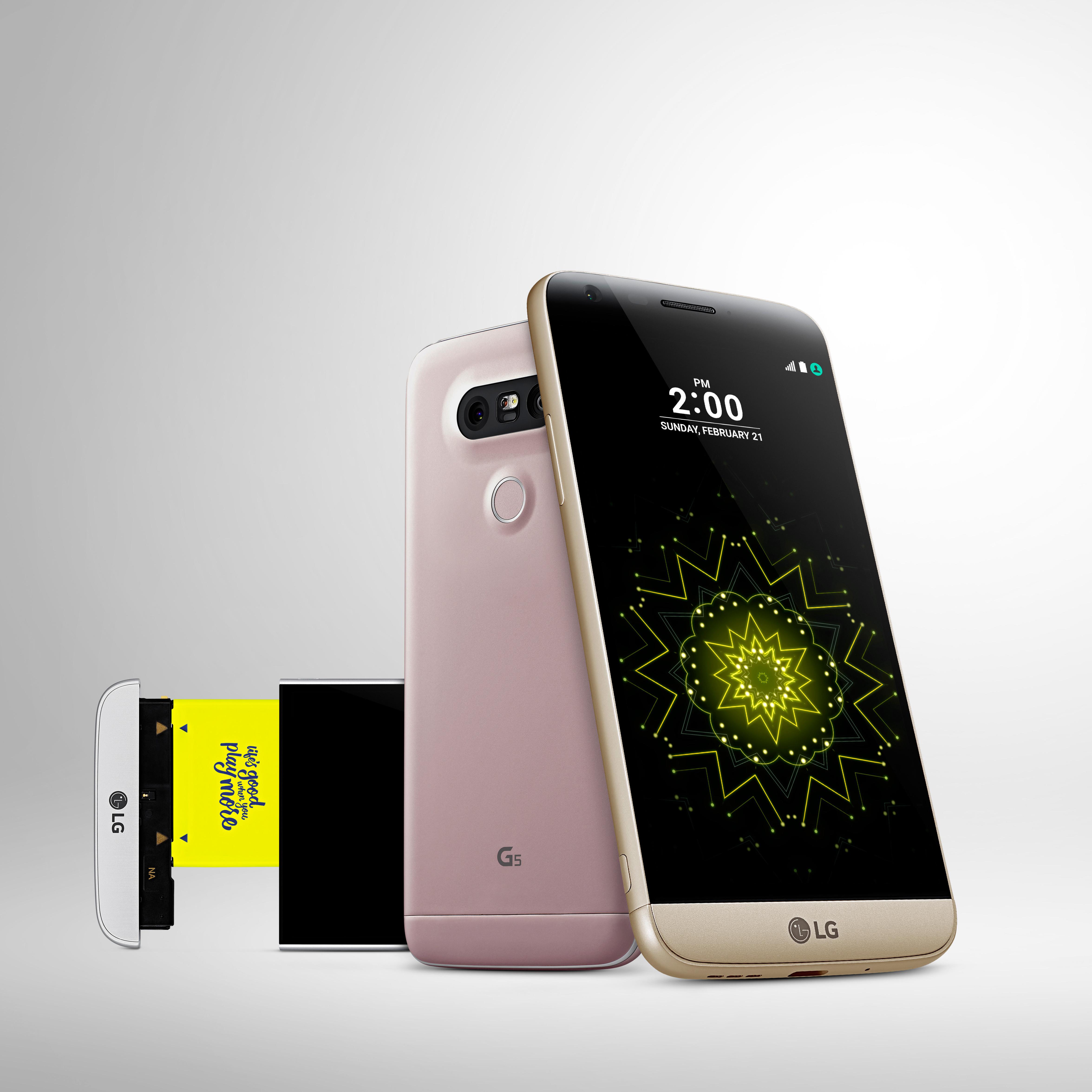 test du lg g5 une touche de modularit pour un smartphone performant. Black Bedroom Furniture Sets. Home Design Ideas