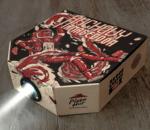 Insolite : quand une boite à pizza se transforme en projecteur