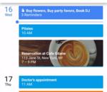Les tâches de Keep et Inbox s'invitent dans Google Agenda