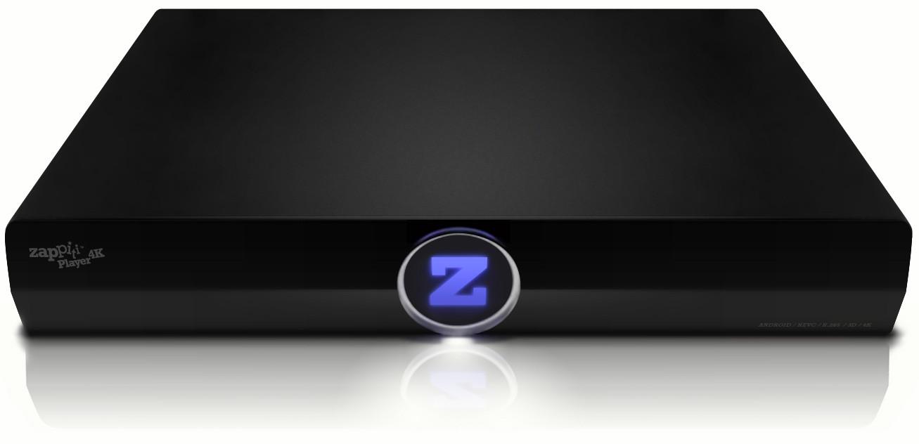 zappiti player 4k un lecteur multim dia android ultra hd et dolby atmos. Black Bedroom Furniture Sets. Home Design Ideas