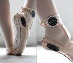 Des ballerines connectées transforment les pas de danse en dessins