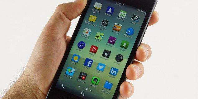 BlackBerry Leap : l'entrée de gamme des professionnels