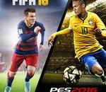 FIFA 16 / PES 2016 : et le titre est remis en jeu