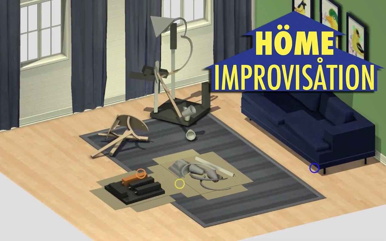 Home Improvisation : montez des meubles Ikea dans ce jeu en ligne
