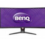 BenQ XR3501 : un moniteur plus incurvé et plus fluide pour le jeu vidéo