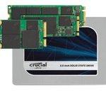 CES 2015 : MX200 et BX100, deux nouveaux SSD chez Crucial