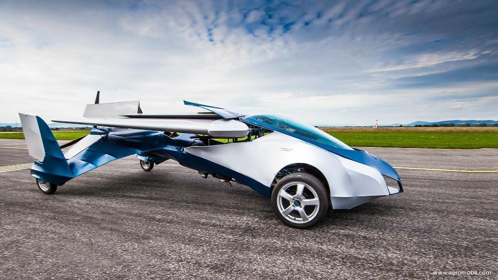 voiture volante Aeromobil
