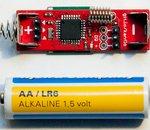 Un Arduino réduit à la taille d'une pile