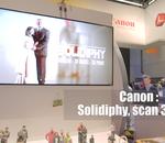 Aperçu de la cabine photographique Canon Solidiphy au CES 2017