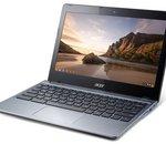 Acer lance des Chromebooks C720 performants à processeurs Core i3
