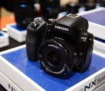 CES 2014 : Samsung NX30, mise à jour de l'appareil photo hybride maison