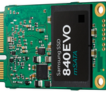 Samsung SSD 840 Evo mSATA : 8,5 g pour 1 To