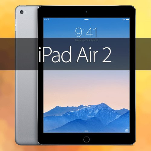 iPad Air 2   la tablette encore affinée 974cc05305b5