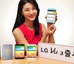 LG officialise son smartphone Vu 3, à la fois proche et éloigné du G2
