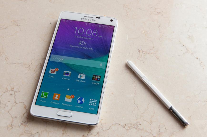 IFA 2014 : Samsung dévoile le Note 4