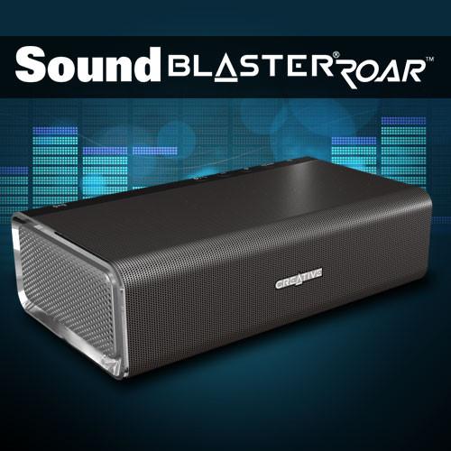 Sound Blaster Roar : Creative fait rugir l'enceinte portable