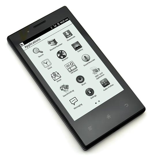 Midia InkPhone : un smartphone à écran E Ink offrant 2 semaines d'autonomie