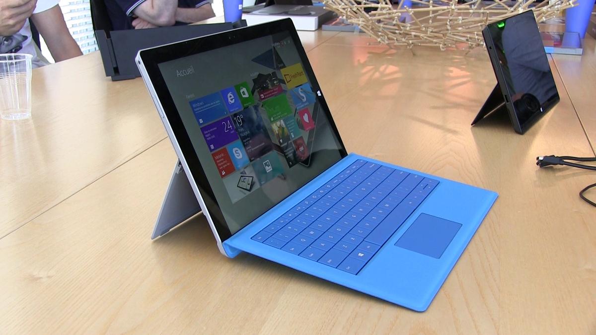 Capture d\'écran vidéo Microsoft Surface Pro 3
